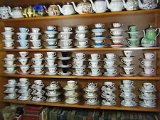 Vintage China HIRE Tea party  100 Cups, 3 Tier Cake Stands. Tea Party Weddings