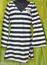 California Costumes Convict Chick Party Halloween Jail Costume womens Size M