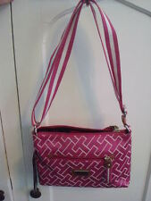 Tommy Hilfiger Pink Logo Crossbody Purse Bag MSRP $59 NEW