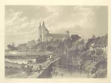 1 Orig.Stahlst.v. Capon n. Foster ca.1847 SPEYER/GA/