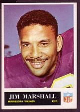 1965 PHILADELPHIA JIM MARSHALL CARD NO:107 NEAR MINT