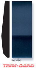 "2 7/16"" x 20' Roll Universal Smooth Gloss Black Trim-Gard Body Side Molding"