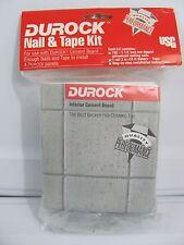 """NEW USG Durock 150 1-1/2"""" Galvanized Nail & 2"""" X 75' MESH Tile Backer Tape Kit"""