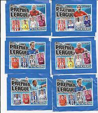 2013 Pegatinas Topps Premier League 10 paquetes 5 pegatinas por paquete