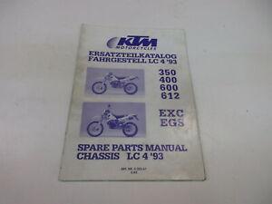 Ktm 350_ 400_ 600_ 612 LC4 1993 Catálogo de Piezas de Repuesto Chasis 3.203.61