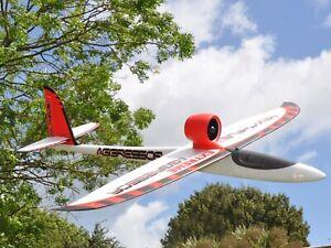 Max Thrust Aggressor EXTREME Glider PNP Inc Brushless Motor, Speedcontrol,Servos