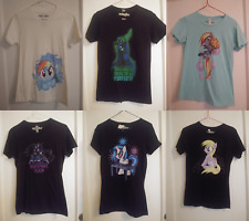 WeLoveFine My Little Pony Frienship Is Magic Womens Shirt Lot S SMALL Derpy DJ