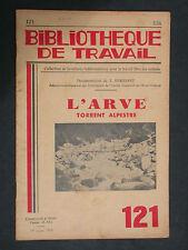 BT 121 - L'Arve torrent alpestre - Mont Blanc, glacier, Chamonix, Montagne Sanas