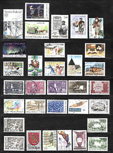 Finland .. A good stamp collection .. 4136