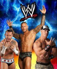 New Wwe Wrestling Plush Fleece Throw Gift Blanket John Cena Randy Orton Soft Nip