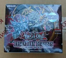Yugioh Factory Sealed Legendary Duelists: Rage Of Ra Booster Box NEW IN-HAND