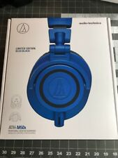 Audio Technica ATH-M50x Limited Edition Professional DJ Headphones - Blue Black
