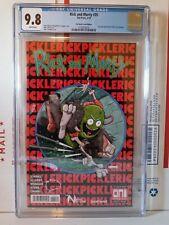 Rick and Morty 35, CGC 9.8, Brain Trust Edition, Amazing Spider-Man 300 Homage