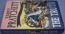 TERRY PRATCHETT The Truth HB DW FIRST 25th Discworld Novel Fantasy