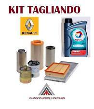 KIT TAGLIANDO OLIO TOTAL 5W40 + 3 FILTRI RENAULT MEGANE II 1.5 DCI