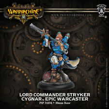 Warmachine: Cygnar Lord Commander Stryker Epic Warcaster PIP 31034