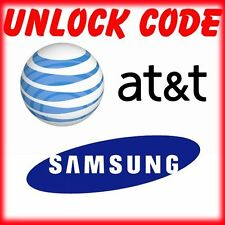 AT&T SAMSUNG UNLOCK CODE GALAXY S6, S5, NOTE 5, 4, 3, ACTIVE & EDGE all models