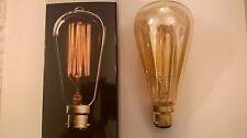 Ampoule retro style industriel Edison 60w B22
