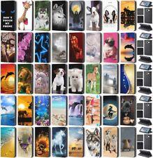 Hülle iPhone 4 4s 5 5s SE 6 6S 7 Flip Cover Handy Case Schutzhülle Smart110
