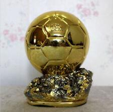 1Resin Golden Ball 21cm FIFA Award Player the Year Ballon d'Or Football GIft