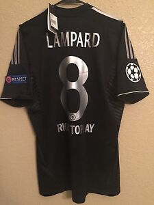 England Chelsea CL Lampard Player Issue Formotion Football Shirt Adidas Jersey