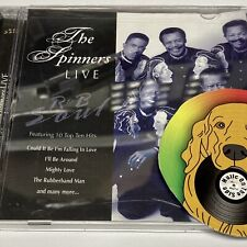 The Spinners - Live R&B Soul Cd Nm Rare 2006 Direct Source Special Canada