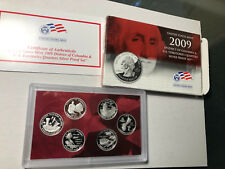 2009 US Mint District of Columbia & US Territories Quarters Silver Proof Set