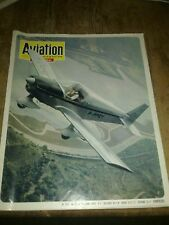 Aviation magazine International.(French). 2 issues August 1970