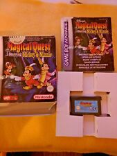 Magical Quest starring mickey & minnie - NINTENDO Game boy Advance GBA - Complet