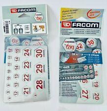 """Facom Steckschlüssel 1/4"""" 3/8"""" 1/2"""" Kennzeichnung Markierung Marker Nuss SW 5-34"""