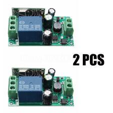 433MHz 220V 10A 1 Canali Relay Relè Wireless RF Telecomando Switch Ricevitore 32