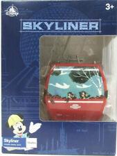 Disney Parks Mickey & Minnie Red Skyliner w/Stand Chip & Dale - Pluto New!