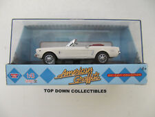 Motor Max American Griffiti 1964 1/2 Ford Mustang Cast Collection Nib 1:64