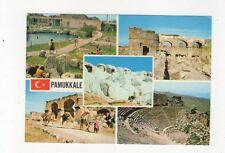 Pamukkale Denizli Turkey 1960s Postcard 676a