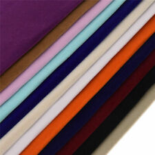 1PC A4 Multicolor Self-adhesive Flocking Cloth Fabric DIY Sewing Accessories USA