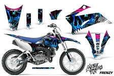 Yamaha TTR 110 Dirt Bike Graphic Sticker Kit Decal Wrap MX Parts 11-15 FRENZY