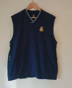 Nike Golf Vest Navy Blue RPGC Size M