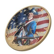 USA 2019 1$ Faces of America - US Grenadier 1 Oz Silver Coin with Varnish
