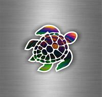 Sticker tuning turtle tribal nautical jdm bomb car vehicle moto wall decal