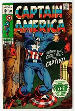 Marvel CAPTAIN AMERICA #125 - VG May 1970 Vintage Comic