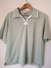 """Poppy Size 44"""" Green Collared T Shirt top <T3905"""