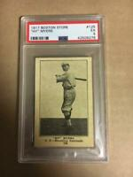 """""""HY"""" Myers 1917 Boston Store Card #125 PSA 5 EX None Graded Higher!"""