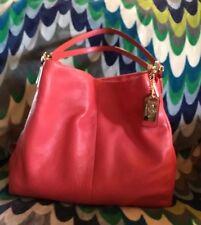 Beautiful Soft Orange leather Coach Handbag Purse