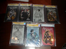 LADY MECHANIKA 20 GRADED BOOKS (11) CGC 9.8 SS + (8) CGC 9.8 + (1) CBCS 9.8