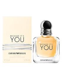 BECAUSE IT'S YOU EMPORIO ARMANI  FOR WOMAN - 50 ML / 1.7 FL. OZ - EAU PARFUM
