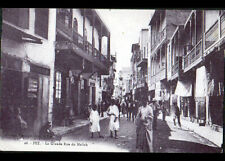 FEZ (MAROC) COMMERCES animés , Rue du MELLAH en 1947