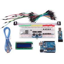 Starter Kit Uno R3 Project Arduino 1602 LCD Display Breadboard LED Resistor