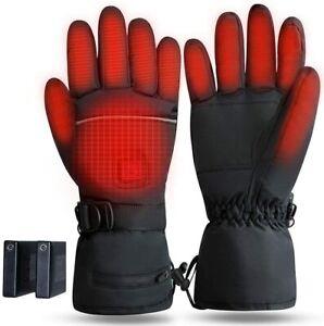 Fasola Beheizbare Handschuhe Mit Akku 3,7V 4000mAh Elektrische Motorrad 01A2355I