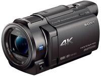 Sony FDR-AX33 4K Ultra HD Handycam Camcorder Video Camera *NEW* FDRAX33 FDRAX33B