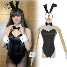 Rascal Does Not Dream Bunny Costume Bodysuit Sakurajima Mai Cosplay Costume